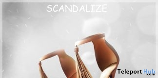 Seren Heels Gold July 2019 Group Gift by SCANDALIZE - Teleport Hub - teleporthub.com