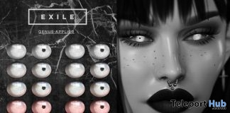 Exile Genus Eyes Applier July 2019 Group Gift by Apothic - Teleport Hub - teleporthub.com