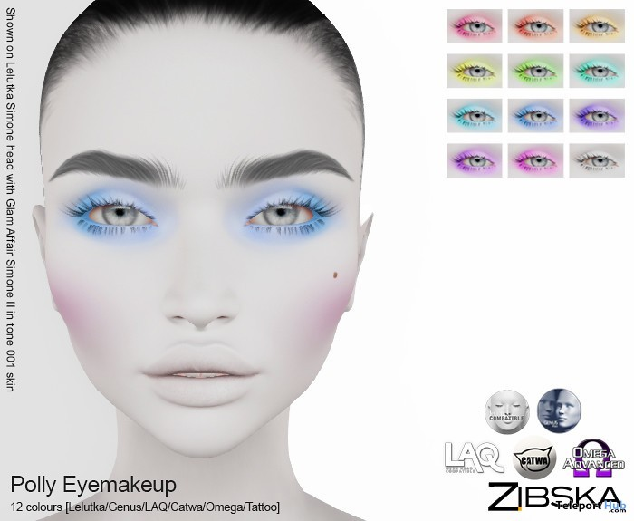 Polly Eye Makeup July 2019 Limited Time Gift by Zibska- Teleport Hub - teleporthub.com
