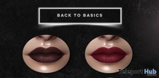 Back to Basics Lipsticks Applier For Genus Mesh Head July 2019 Group Gift by Apothic - Teleport Hub - teleporthub.com