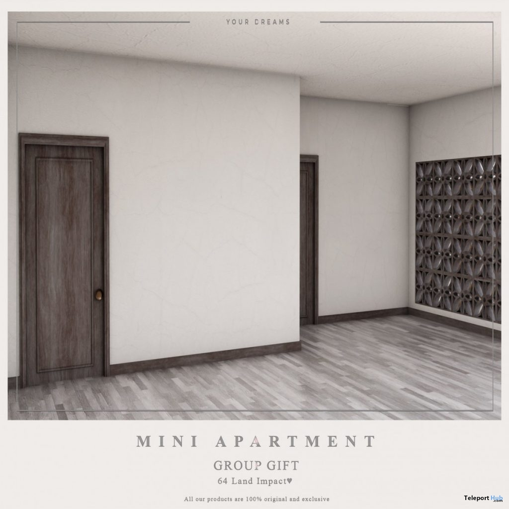 Mini Apartment July 2019 Group Gift by Your Dreams- Teleport Hub - teleporthub.com