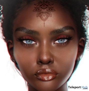 Subira Skin Chocolate Shade July 2019 Group Gift by LERONSO skins- Teleport Hub - teleporthub.com