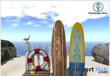 Jessy Beach Set July 2019 Group Gift by Dreamscapes Art Gallery- Teleport Hub - teleporthub.com