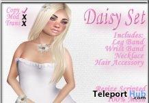 Daisy Jewelry Set July 2019 Group Gift by Sweet Evil- Teleport Hub - teleporthub.com