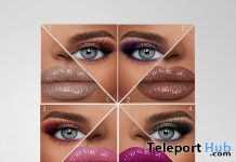 Infinity Makeup Pack July 2019 Group Gift by The Face- Teleport Hub - teleporthub.com
