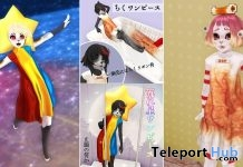 Star & Chiku One-Piece Outfit And Star Head For Kemono Avatar July 2019 by LOLISON - Teleport Hub - teleporthub.com