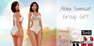 Aloha Swimsuit July 2019 Group Gift by Al-Hanna - Teleport Hub - teleporthub.com