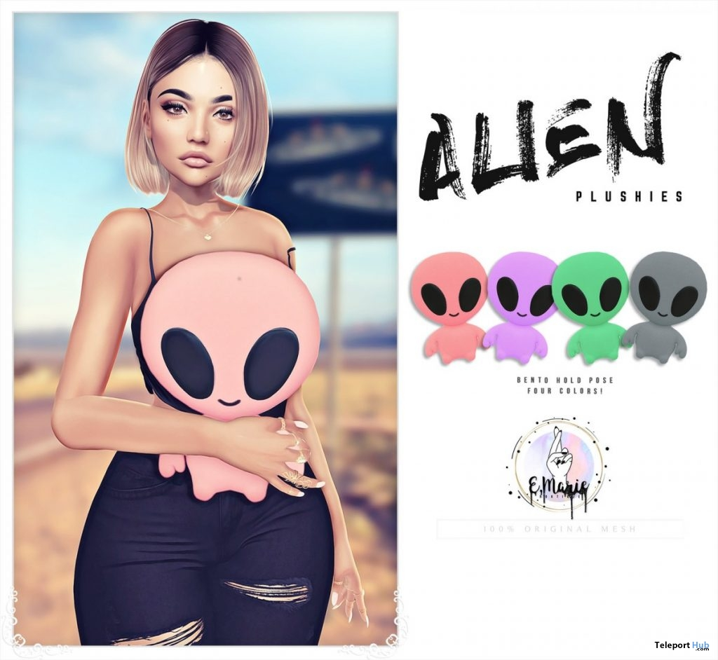 Alien Plushy July 2019 Group Gift by e.marie - Teleport Hub - teleporthub.com