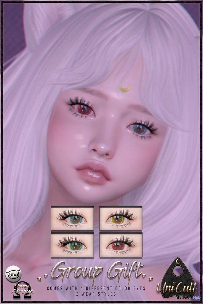 Eyes Appliers July 2019 Group Gift by UniCult - Teleport Hub - teleporthub.com