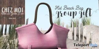 Hot Beach Bag July 2019 Group Gift by Chez Moi Furniture - Teleport Hub - teleporthub.com