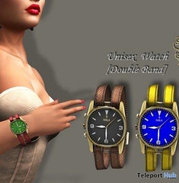 Unisex Double Band Watch 1L Promo Gift by Nala Design- Teleport Hub - teleporthub.com