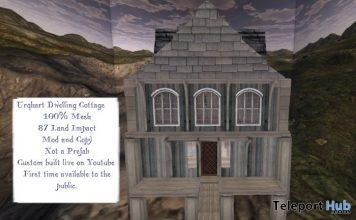Urqhart Dwelling Cottage 1L Promo Gift by Neurotic Drama- Teleport Hub - teleporthub.com