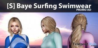 New Release: [S] Baye Surfing Swimwear by [satus Inc]- Teleport Hub - teleporthub.com