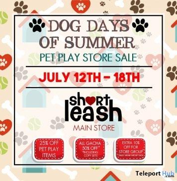 Dog Days of Summer Pet Play Store Sale Event 2019- Teleport Hub - teleporthub.com