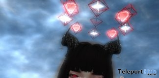 Red Rinnegan Catwa Mesh Eyes Applier July 2019 Gift by Munlay - Teleport Hub - teleporthub.com