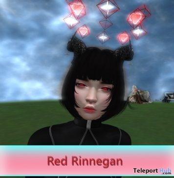 Red Rinnegan Catwa Mesh Eyes Applier July 2019 Gift by Munlay- Teleport Hub - teleporthub.com