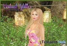 Halter Dress Fruity July 2019 Gift by Virtual Glitter- Teleport Hub - teleporthub.com