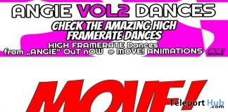 New Release: Angie Vol 2 High Framerate Bento Dance Pack by MOVE! Animations Cologne - Teleport Hub - teleporthub.com