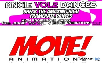 New Release: Angie Vol 2 High Framerate Bento Dance Pack by MOVE! Animations Cologne- Teleport Hub - teleporthub.com