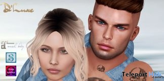Heart & Skull Neck Tattoos July 2019 Group Gift by D'Luxe Body Fashion- Teleport Hub - teleporthub.com