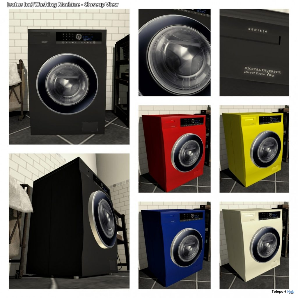 New Release: Washing Machine [PG] & [Adult] by [satus Inc]- Teleport Hub - teleporthub.com