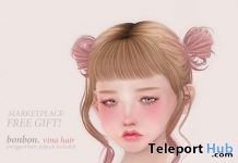Vina Hair Fatpack Gift by Bonbon- Teleport Hub - teleporthub.com