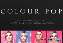 Color Pop Photo Booth August 2019 Group Gift by FOXCITY- Teleport Hub - teleporthub.com