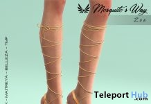 Zoe Heels August 2019 Group Gift by Mosquito's Way - Teleport Hub - teleporthub.com