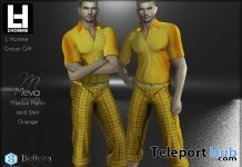 Marcus Outfit Set L'HOMME Magazine August 2019 Group Gift by Meva - Teleport Hub - teleporthub.com