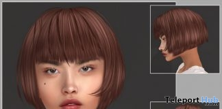 Keira Hair August 2019 Group Gift by KoKoLoReS - Teleport Hub - teleporthub.com
