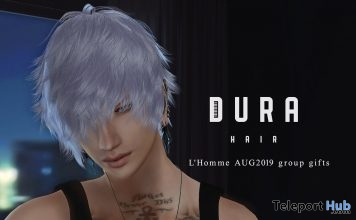 Unisex Hair L'HOMME Magazine August 2019 Group Gift by DURA Hair - Teleport Hub - teleporthub.com