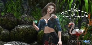 Gabi Outfit Set Pack August 2019 Group Gift by Ewa Boutique- Teleport Hub - teleporthub.com