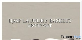 Laundry Basket August 2019 Group Gift by Shutter Field- Teleport Hub - teleporthub.com