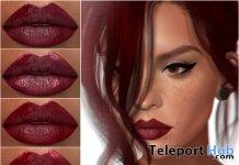 Lipsticks Applier For Genus Mesh Head August 2019 Group Gift by LERONSO skins- Teleport Hub - teleporthub.com