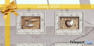 Nautical Frames August 2019 Group Gift by Aphrodite Shop - Teleport Hub - teleporthub.com