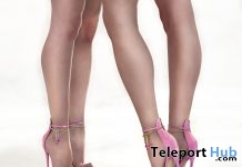 Barbara Shoes Pink August 2019 Group Gift by ATHOR- Teleport Hub - teleporthub.com
