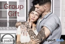Alright Couple Pose August 2019 Group Gift by e.posEd. - Teleport Hub - teleporthub.com