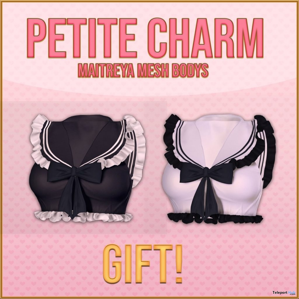 Petite Charm Tops August 2019 Group Gift by BUING - Teleport Hub - teleporthub.com