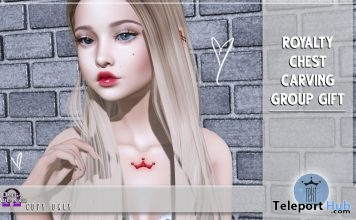 Royalty Chest Carving August 2019 Group Gift by Rekt Royalty - Teleport Hub - teleporthub.com