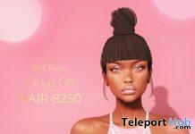 Hair 8250 September 2019 Group Gift by Pink Hustler- Teleport Hub - teleporthub.com