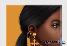 Mariya Earrings 1L Promo Gift by S. Lima - Teleport Hub - teleporthub.com