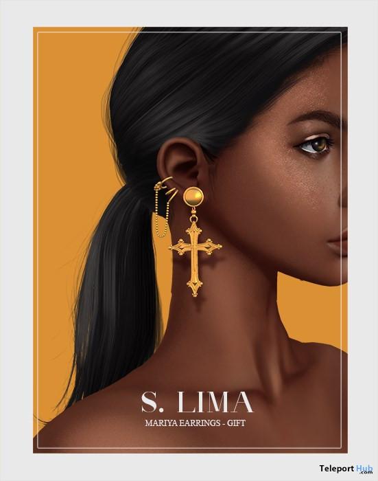 Mariya Earrings 1L Promo Gift by S. Lima- Teleport Hub - teleporthub.com