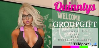 Bobbi Outfit September 2019 Group Gift by Quinnty's - Teleport Hub - teleporthub.com