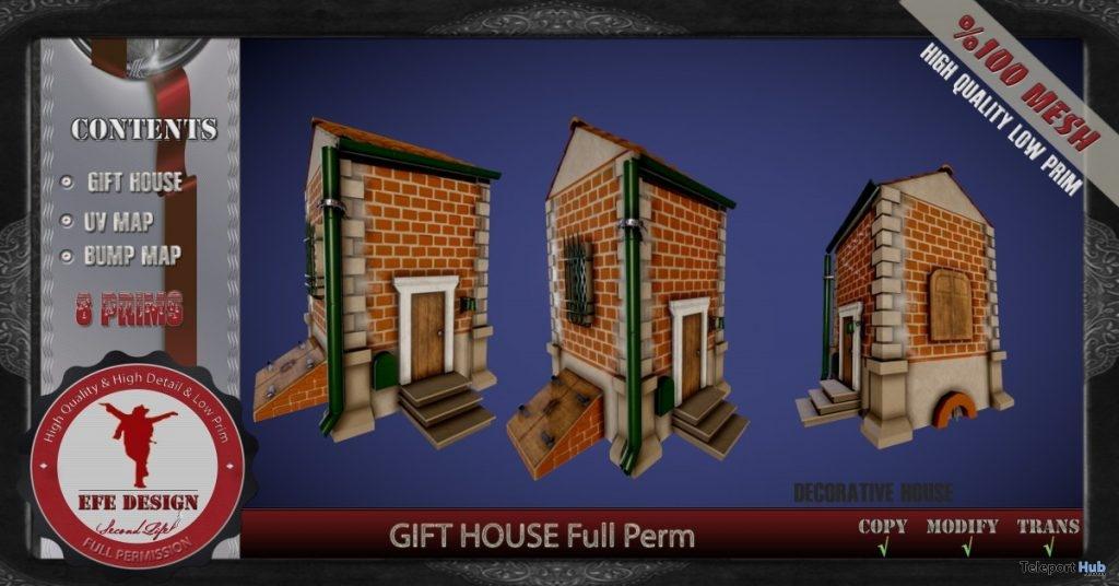 House Full Perm 1L Promo Gift by EFE DESIGN- Teleport Hub - teleporthub.com