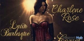 New Release: Charlene Rose Latin Burlesque Bento Dance Pack by Paragon Dance Animations @ Uber Event July 2019- Teleport Hub - teleporthub.com