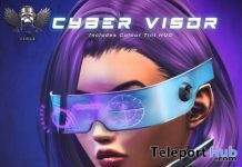 Cyber Visor L'HOMME Magazine August 2019 Group Gift by The Forge - Teleport Hub - teleporthub.com