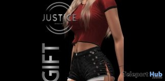 Monica Shorts August 2019 Group Gift by JUSTICE - Teleport Hub - teleporthub.com