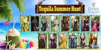 Virtual Diva Tequila Summer Hunt 2019 - Teleport Hub - teleporthub.com