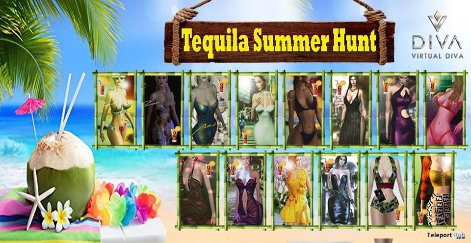 Virtual Diva Tequila Summer Hunt 2019- Teleport Hub - teleporthub.com