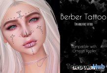 Berber Face Tattoo 10L Promo by SADTURN- Teleport Hub - teleporthub.com